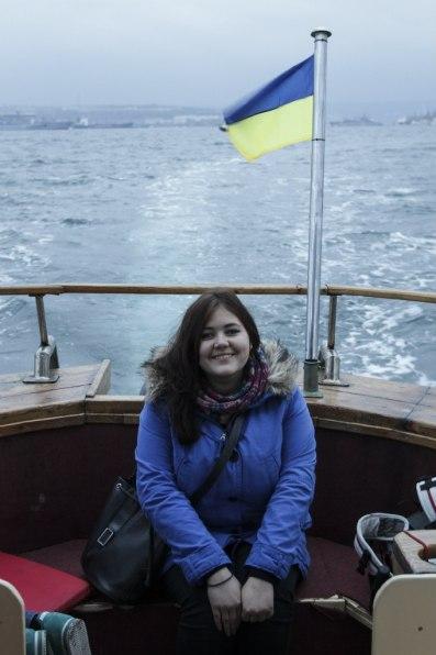 На лодке по бухте