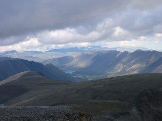 Долина Балбанъю, вид сверху
