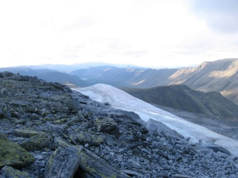 Ледник сверху