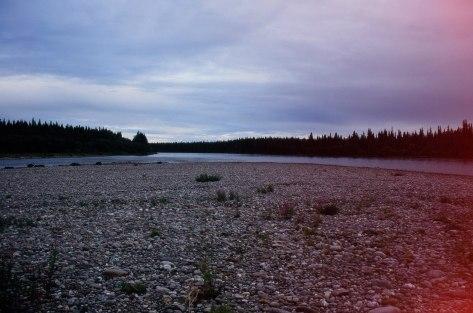 Остров после слияния р.Косью и р.Вангыр