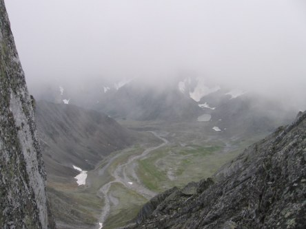 500-метровый обрыв
