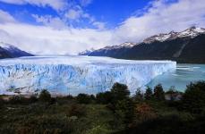 Perito Moreno с 1 км