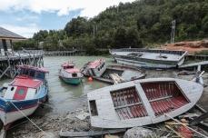 Бухта погибших лодок