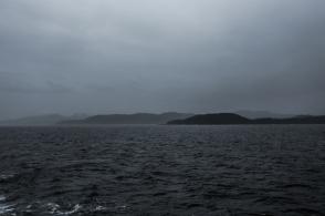 Побережье Тихого океана хмурится