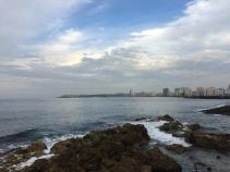 Вид к бухте и крепости